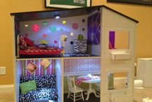 DOLL FURNITURE  / AND OTHER FUN STUFF FOR 18 INCH DOLLS  / by Traudy Chinneck