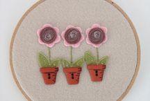Botones decorativos con formas de Hogar y Jardín