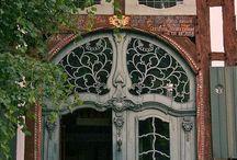 Art Nouveau / Beautiful examples of the Art Nouveau style