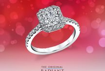 Radiant Rings / No matter your engagement ring style; you can never go wrong with an Original Radiant Cut Diamond!
