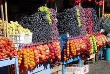 Targ owoce