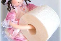Куклы держатели туалетной бумаги