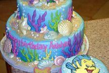 Ariel themed birthday party
