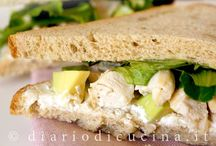 Sandwich, panini & piade