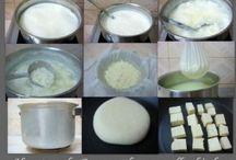 Evde kaşar peyniri
