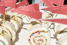 Kids party food and themes
