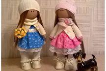 Мои рукоделки / Мои любимые куклы и их друзья