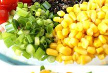 Salads! Salads! Eat them up!