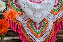 Вязание:пончо,накидки,шали,снуды,шарфы