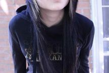 scene - emo girl