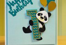 Bear / Panda cards