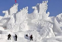 *Snow and Ice Sculptures* / by DK Daniels