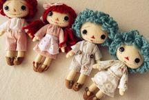 cute or pretty dolls / by Anna Pajunen