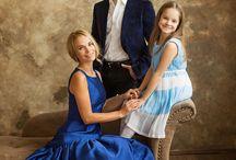 Семейная фотосессия. Позировки. Большие семьи.