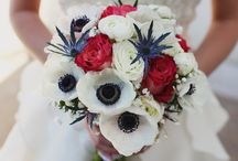 red-blue wedding
