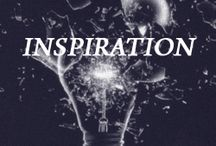 Inspiration! / Things we are inspired by - People, design, fashion, style and culture
