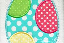 Easter / Embroidery/Applique Designs