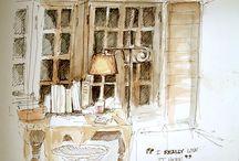 Room deco drawings