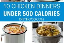 Healthy food under 500 calories