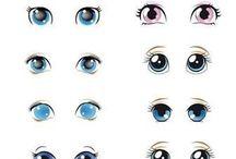 Adesivos De Olhos