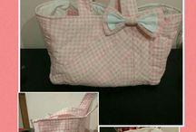Mis creaciones: bolsos, bolsas, cestas... / costura, diy, patchwork