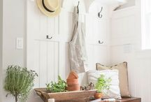 Simple Summer Interiors / Dreamy cool coloured interiors, simply put together.