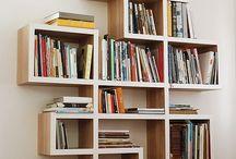 Kitaplık fikirleri ve tasarımları