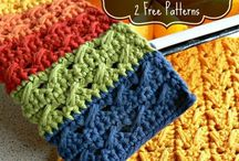 dishcloths and pot holders