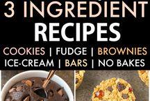 Sugar & flourless bakes