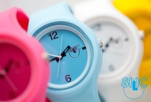 Silic Watch Color Round