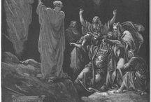 Religion / Gamla och nya testamentet samt andra religösa symboler och personer