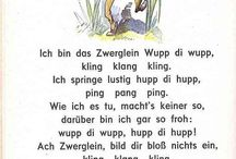 Verse/ Gedichte
