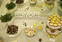 Mesa dulce Eduardo Cozera / Una mesa dulce para la inauguración de una boutique de caballero