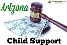 Arizona Child Support Laws / The topic of Arizona Child Support can be overwhelming with all the factors that go into the child support worksheet. This board will demystify some of the misperceptions and confusion around Arizona child support laws.