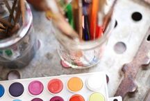 """❥ Paint & Brush / """"Art is not what you see but what you make others see"""" Edgar Degas"""