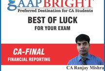 BEST OF LUCK FOR EXAMS