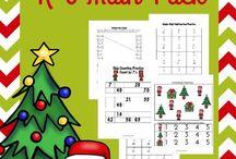 Christmas Printables / Christmas-themed printables for kids. Educational and fun printables for kids during the Christmas season! Christmas printables and fun!