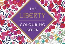 The Liberty Colouring Book / Colour in this stunning collection of patterns from the Liberty archive. Share your handiwork with #mylibertyprint