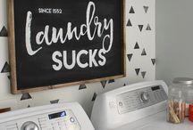 Interior Design: Laundry Rooms