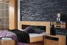 parete dietro il letto