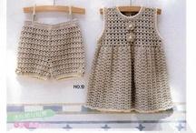 Haak patroontjes Kinder kleding