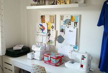 Sewing Room / Sewing and Craft room inspiration