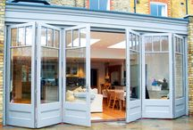 External view of kitchen extension