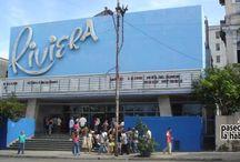Cines en La Habana / Yara, Riviera, Payret y otros cines históricos de La Habana. / by Paseos por La Habana
