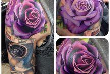 Lila rózsák