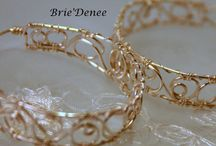 Brie'Denee - My Handcrafted Items / Elegant Handcrafted Wire Wrapped Jewelry Brittney Brownell and Carrie Windsor are the owners of Brie'Denee Jewelry. They are jewelry artists who design and create custom pieces. Feel free to ask questions! We love requests for custom pieces.