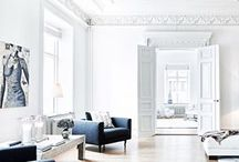 Monochromatic Spaces with Lefty / A collaboration with Lefty, a newly launched Instagram search engine and stock photo service founded by Stanford and Google Search alumni, to gather interior design inspirations.