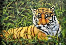 Wildlife Paintings and Beyond / Love of animals