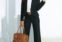 Business Woman / Fashion style, office decor, quotes, bags, shoes, jewelry, professions etc.