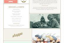 Newsletter Design / business newsletter design, inspiration and ideas.